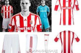 Prima maglia Stoke City adidas 2012-2013