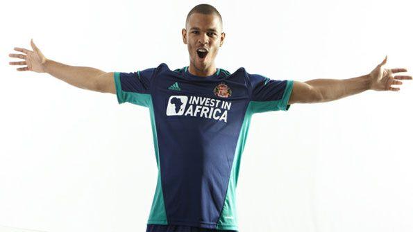 Sunderland kit trasferta adidas 2012-2013