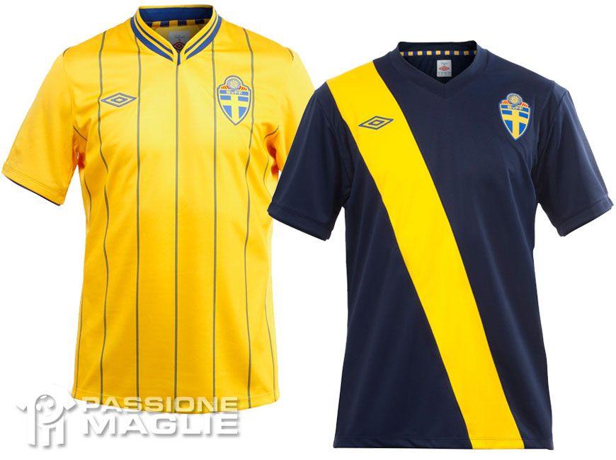 Svezia maglie calcio Europei 2012