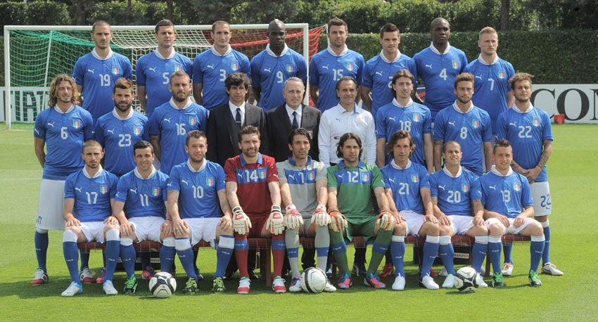 Rosa Italia Euro 2012