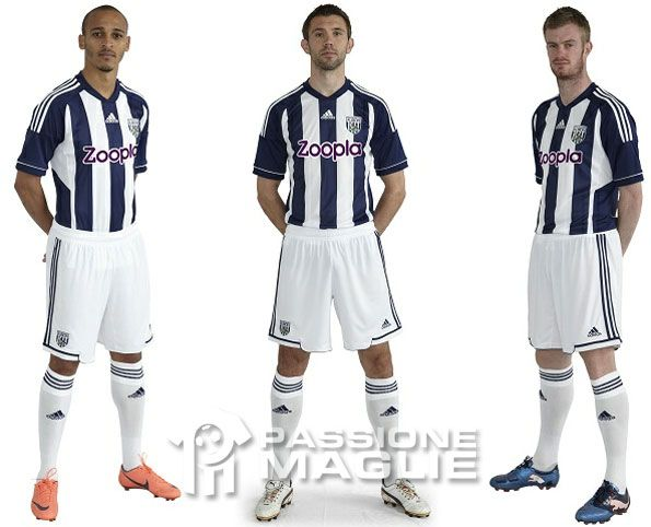 West Bromwich Albion kit home 2012-2013
