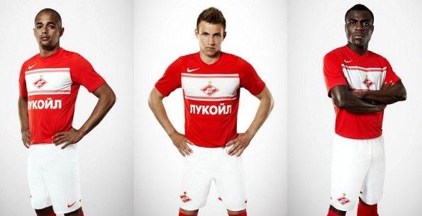 La divisa Nike dello Spartak Mosca 2012-2013