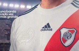 Pubblicità adidas camiseta River Plate