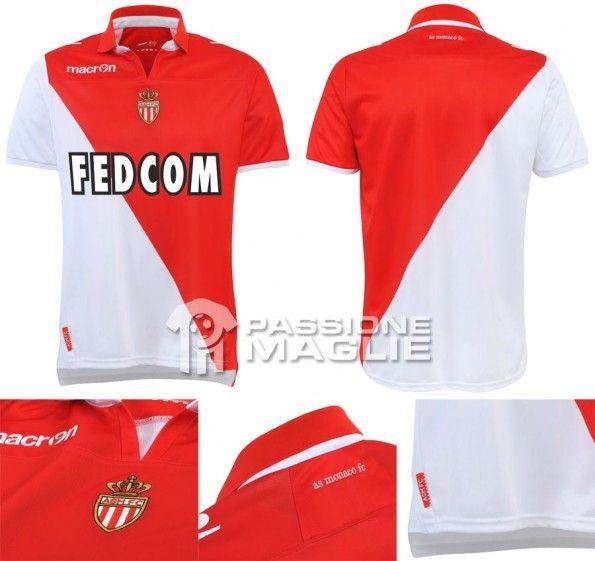 AS Monaco prima maglia 2012-2013