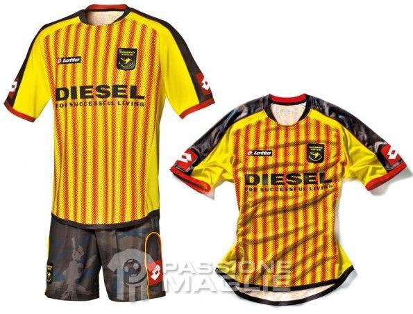 Prima maglia Bassano Virtus 2012-2013
