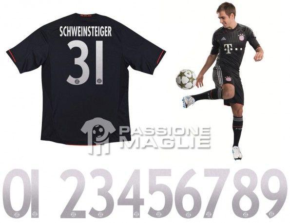 Retro maglia Bayern Monaco 2012-2013 Champions