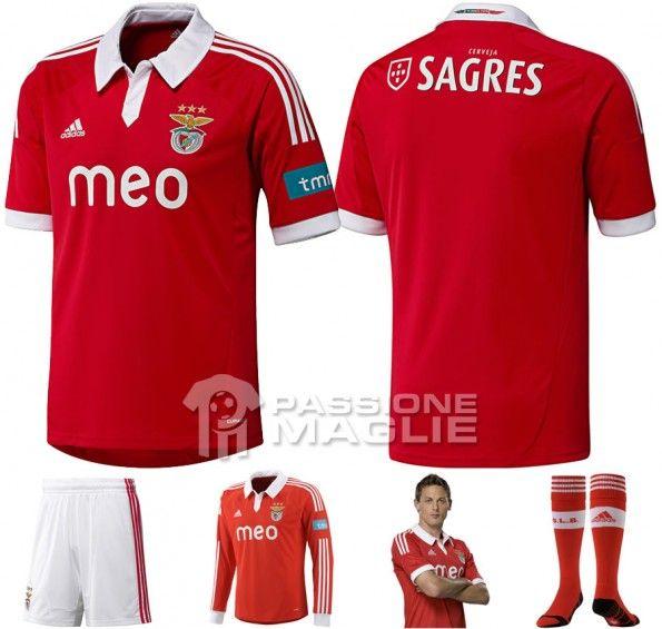 Benfica prima maglia 2012-2013