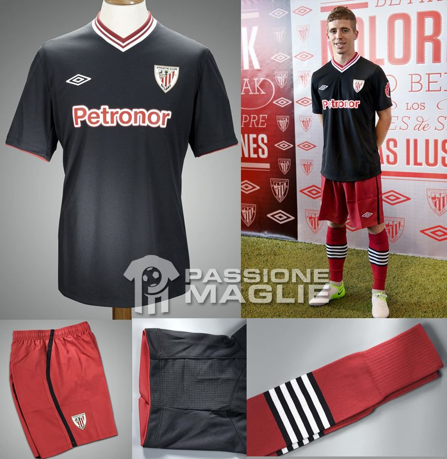 Athletic Club divisa away 2012-2013