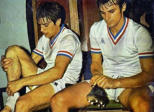 Bonnel e Skoblar Marsiglia anni 70