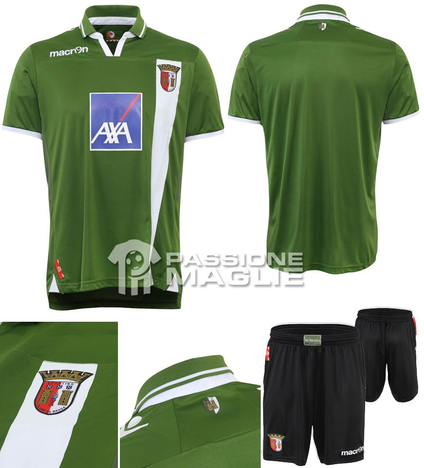 Sporting Braga seconda maglia 2012-2013