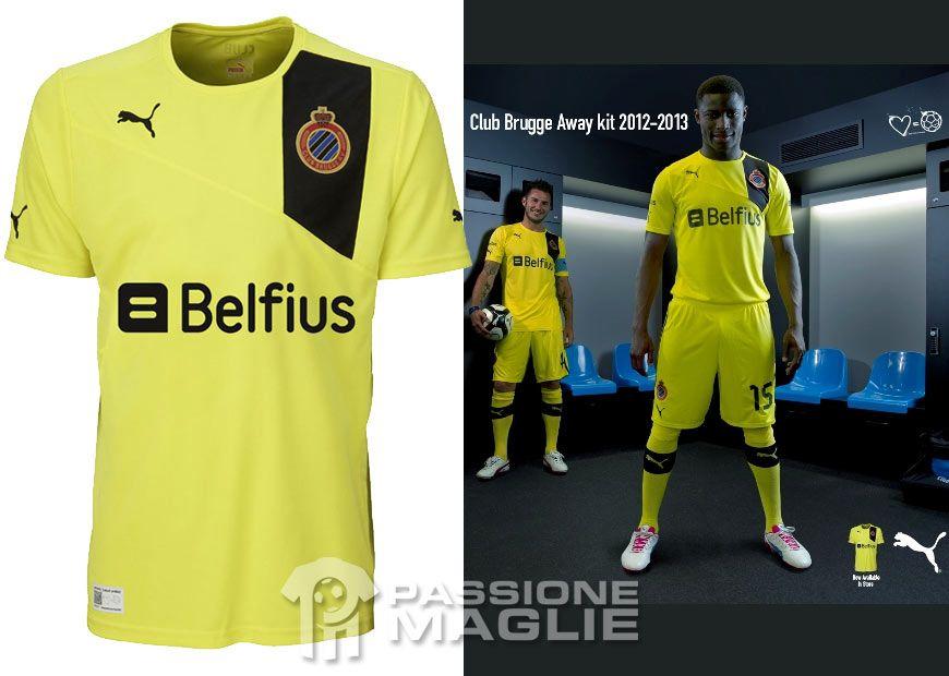 Club Brugge divisa trasferta 2012-2013