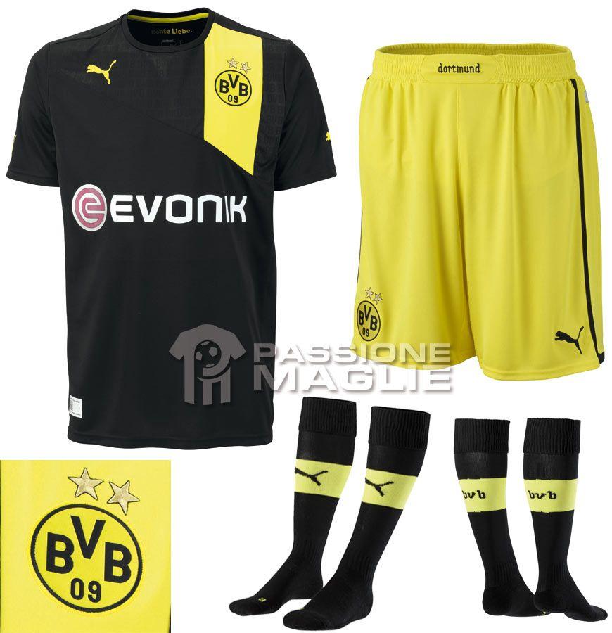 Seconda maglia Borussia Dortmund 2012-2013