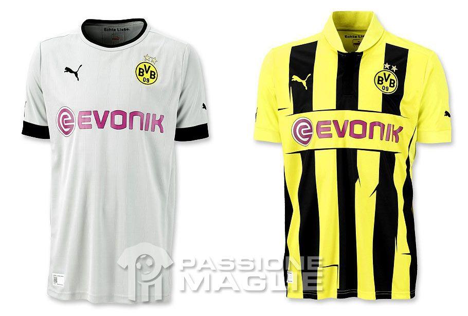 Borussia Dortmund terza maglia e divisa Champions League