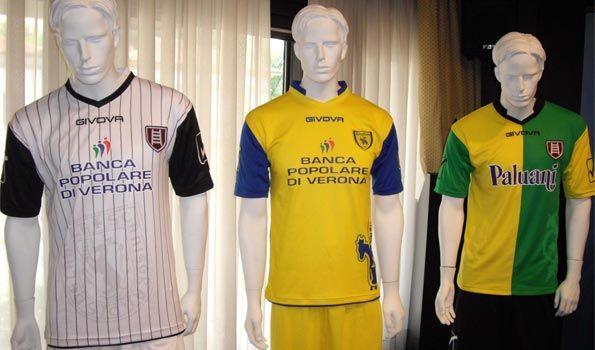 Maglie Chievo 2012-2013
