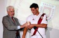 Consegna fascia capitano Reggiana