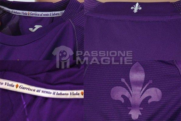Particolari maglia Fiorentina Joma