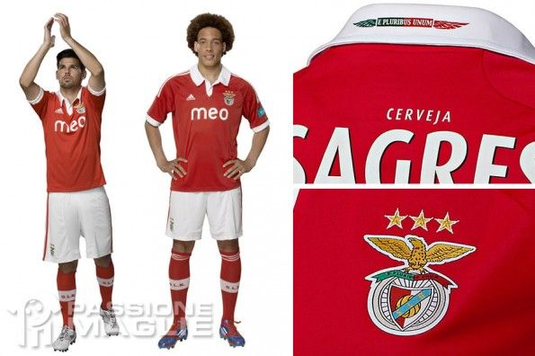 Kit Benfica home 2012-2013