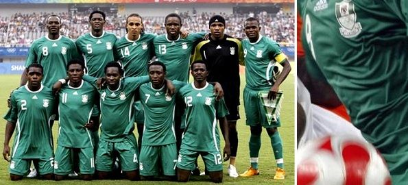 La maglia della Nigeria a Pechino 2008