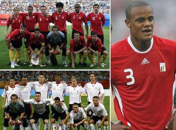 Le divise del Belgio per le Olimpiadi 2008