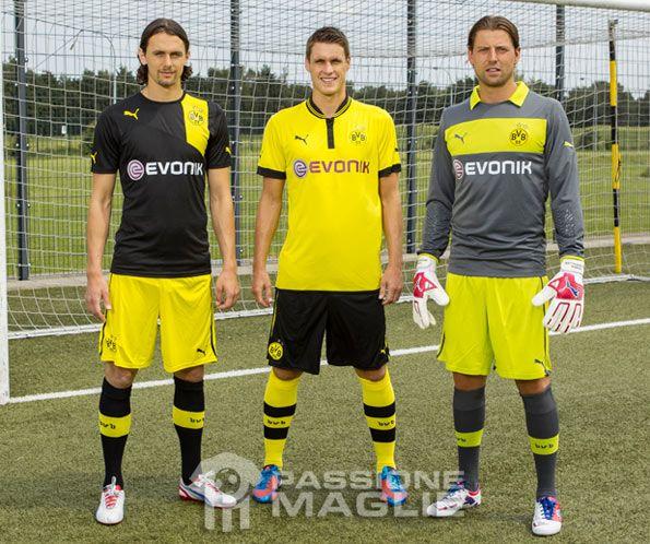 Divise Borussia Dortmund 2012-2013