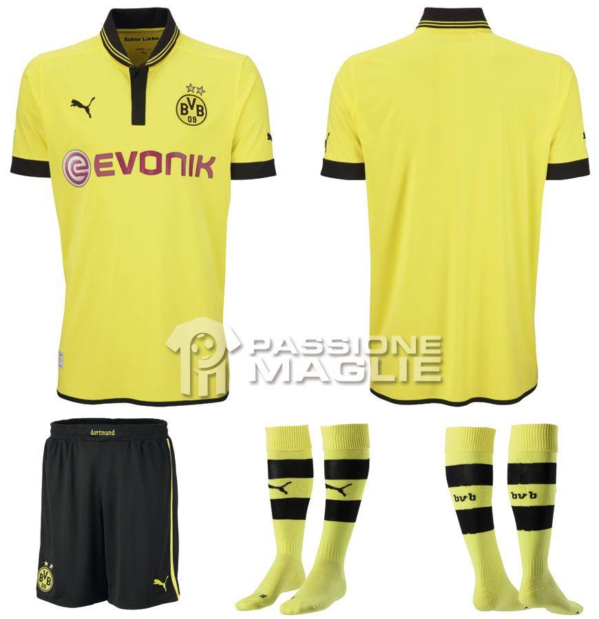 Prima maglia Borussia Dortmund 2012-2013 Puma