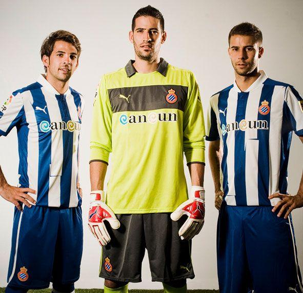 Equipaciones Espanyol Puma 2012-2013