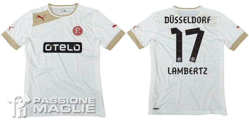 Seconda maglia Fortuna Dusseldorf Puma
