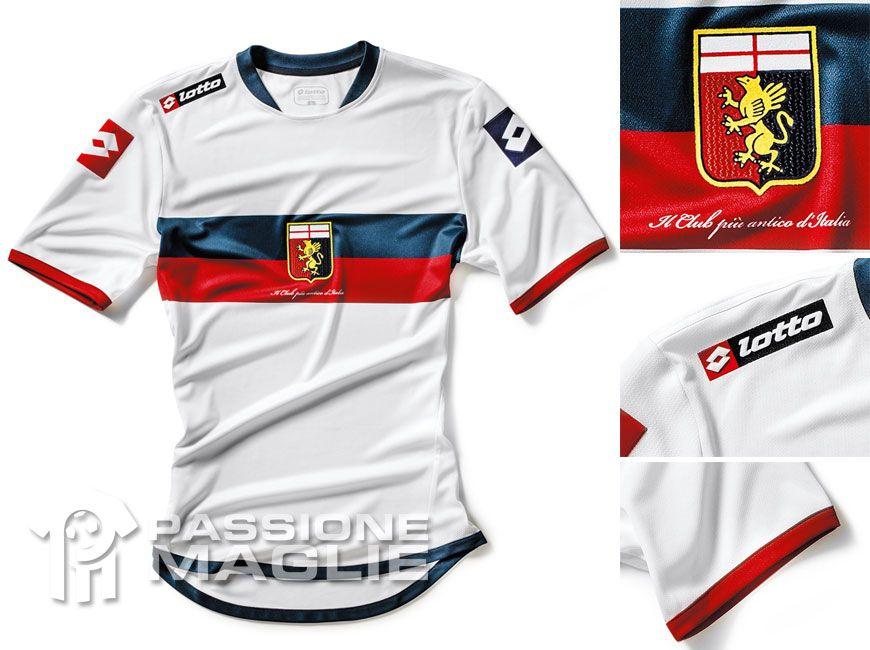 Genoa seconda maglia Lotto 2012-2013
