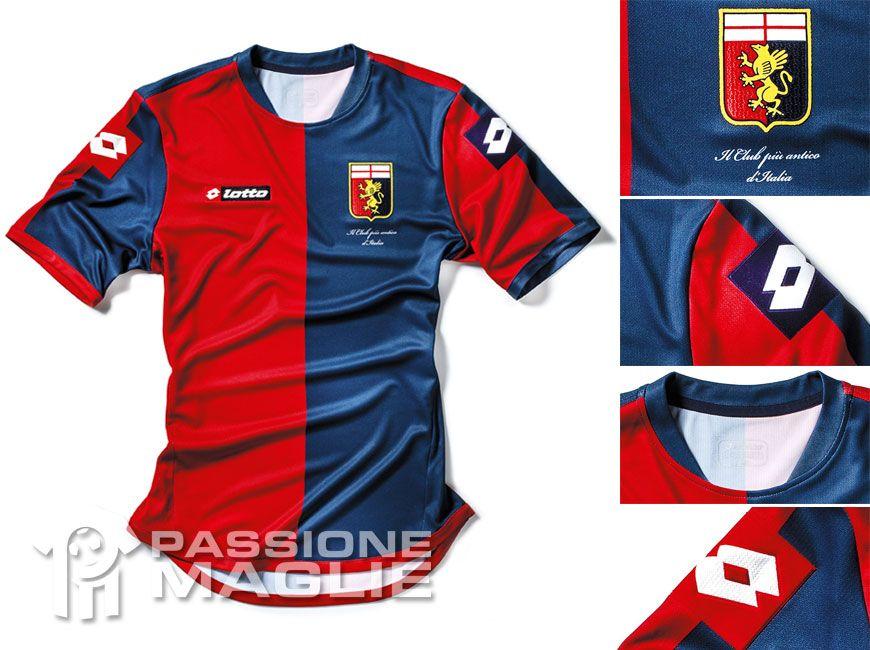 Genoa prima maglia Lotto 2012-2013