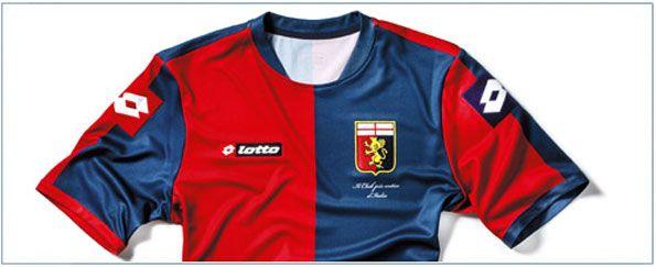 Anteprima maglia Genoa 2012-2013