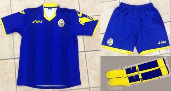 Prima maglia Hellas Verona 2012-2013