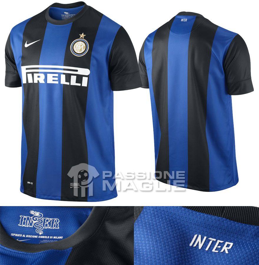 Inter prima maglia Nike 2012-2013 ufficiale