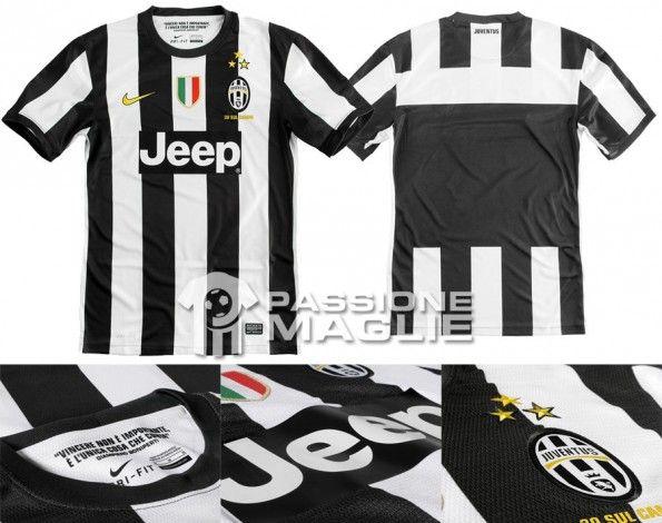 Juventus prima maglia 2012-2013 Nike