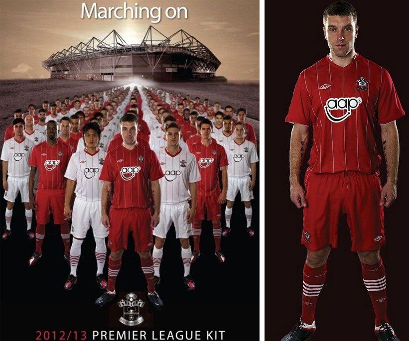 Divise Saints 2012-13 Premier League