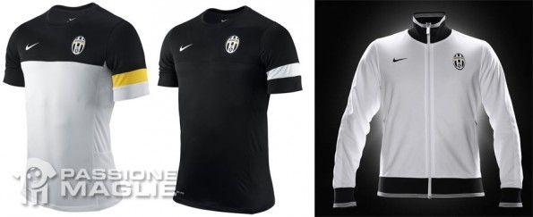 T-shirt allenamento e felpa Juventus