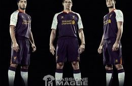 Third kit Liverpool 2012-2013 Warrior