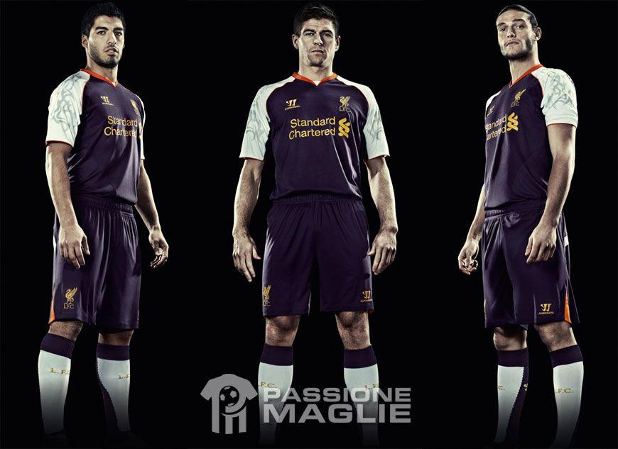 Third kit Liverpool 2012-2013 Warrior