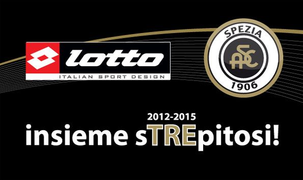 Lotto Sport partner Spezia Calcio