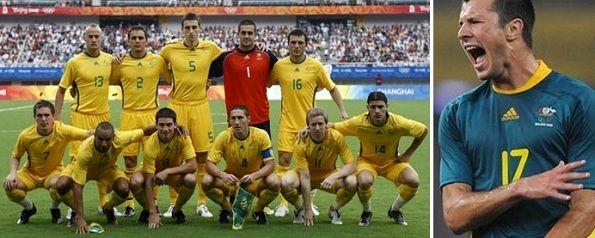 Maglie dell'Australia per le Olimpiadi del 2008