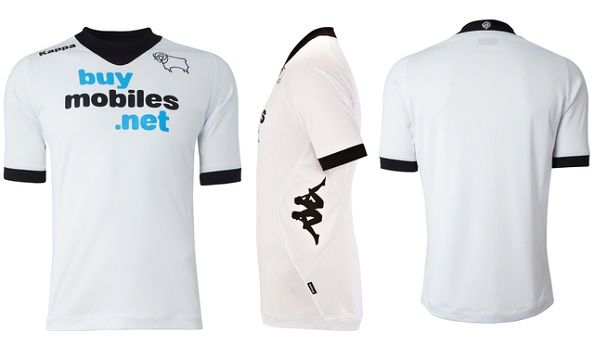 La maglia Kappa del Derby County 2012-2013