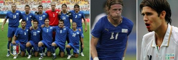 Le maglie dell'Italia alle Olimpiadi del 2008