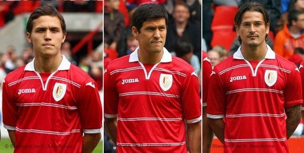 La maglia Joma dello Standard Liegi 2012-2013