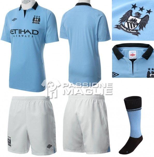 Manchester City prima maglia 2012-2013 Umbro