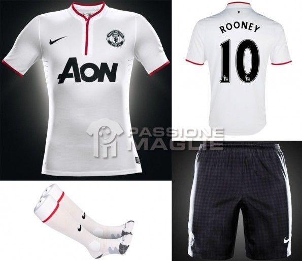 Manchester United away kit Nike 2012-2013