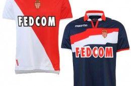 Maglie Monaco 2012-2013