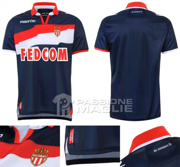 Monaco seconda maglia 2012-2013