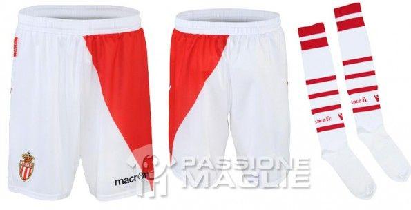 Calzoncini e calze Monaco home 2012-2013