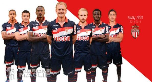 Divisa trasferta Monaco 2012-2013