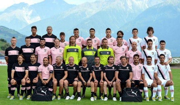 Squadra Palermo 2012-2013 griffata Puma