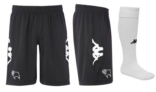 I pantaloncini del Derby county 2012-2013